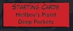 Hellboy: The board Game Carta de Agente Cartas de Inicio