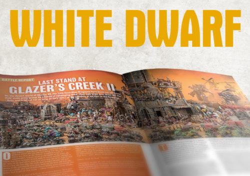 White Dwarf se actualiza de acuerdo a las recomendaciones de la comunidad
