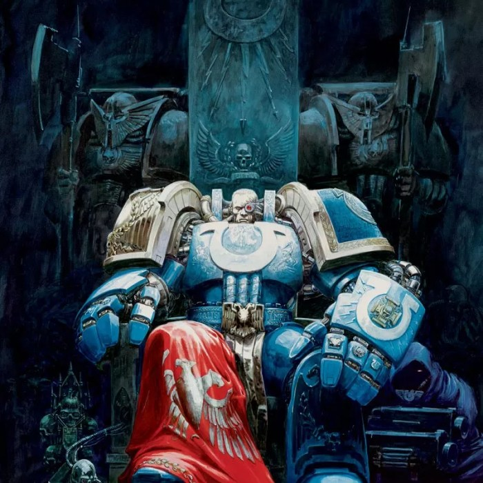 Chapter Master of the Ultramarines and one of the High Lords of Terra.