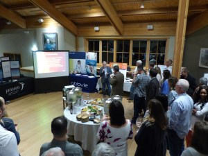 Dr Blakely presented about the medicinal properties and history of beer and brewing at the welcome reception.