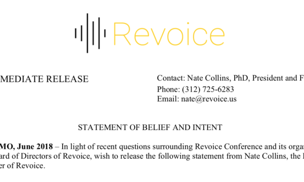 A brief response to the Revoice statement…