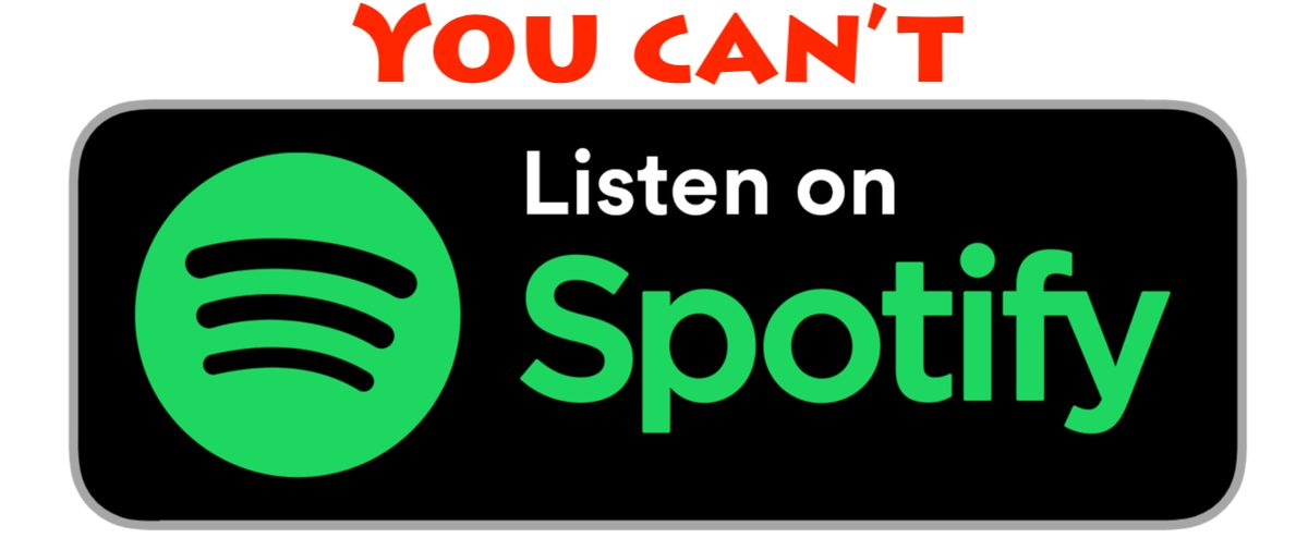 Why aren't our podcasts on Spotify?