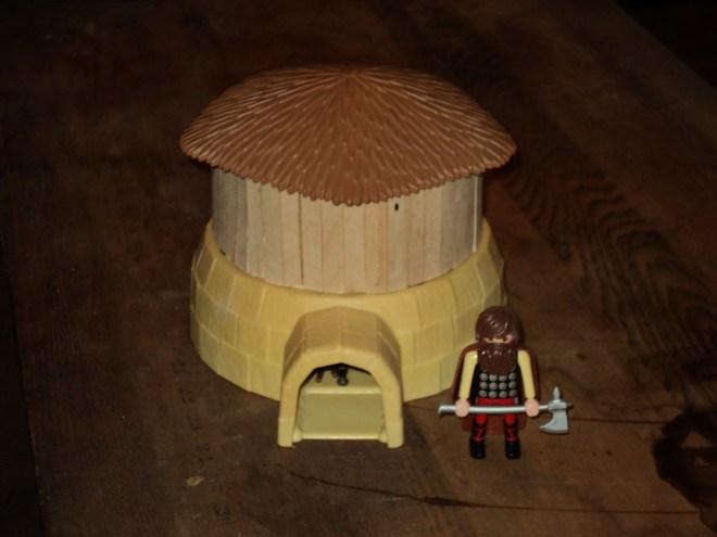 Playmobil Dark Age Hut3