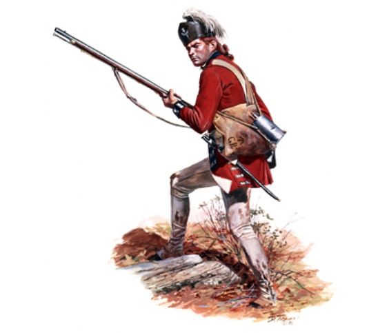 British 21st Reg of Foot