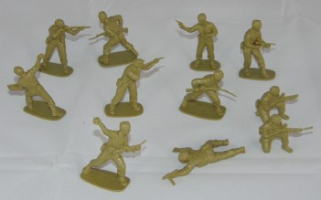 Lot Airfix British Commandos