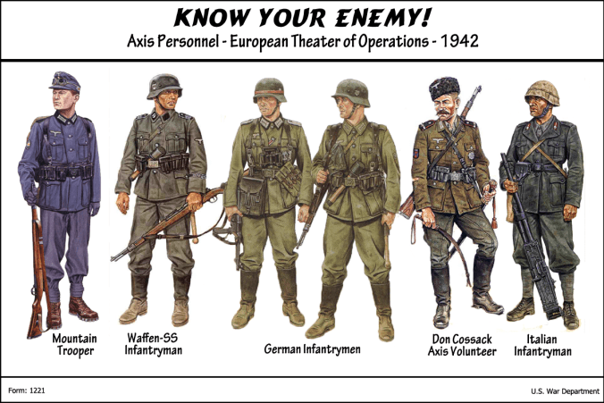 Axis Soliders