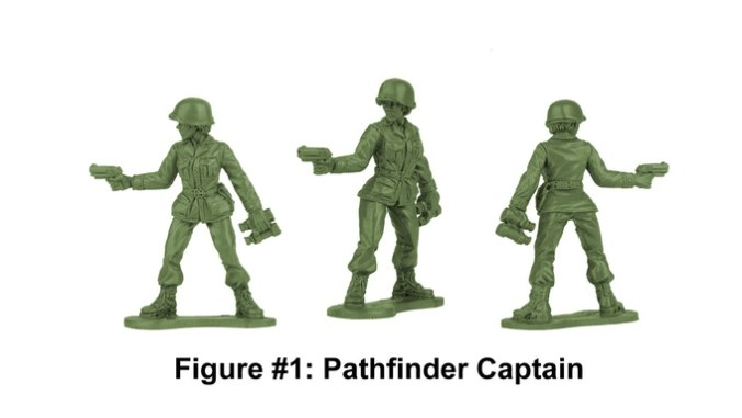 Army Women Pathfinder Captain