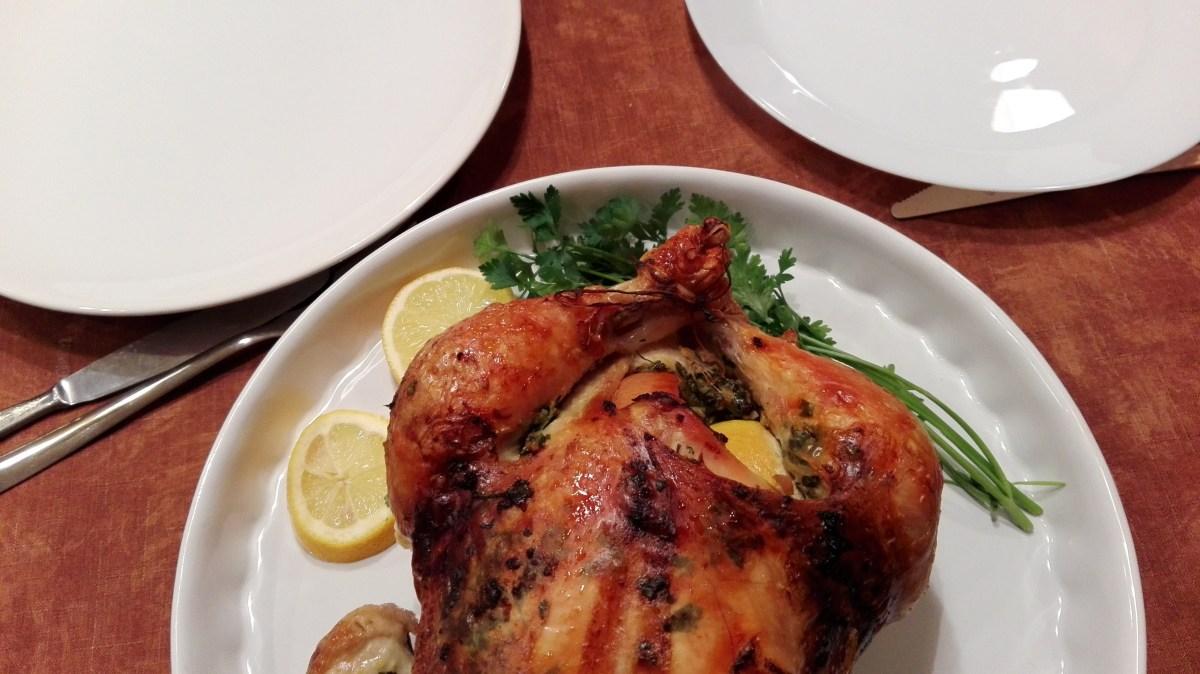 Kurczak pieczony według Gordona Ramsay'a