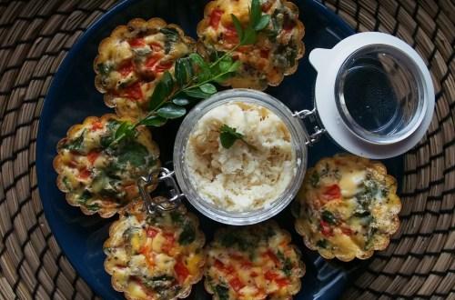 pieczone jajka w muffinkach