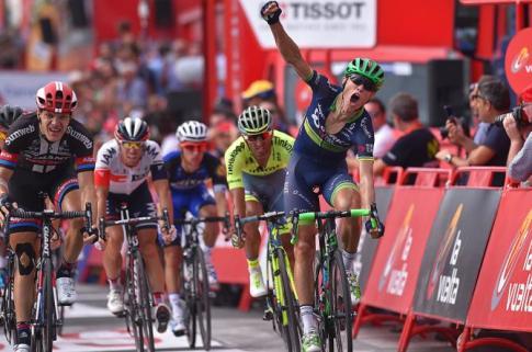 Cort Nielsen vence en el sprint de Gandía