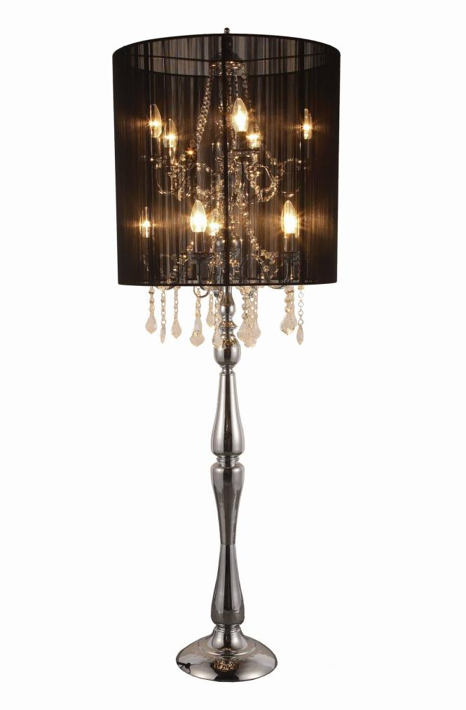 Crystal Chandelier Table Lamps Photo 13