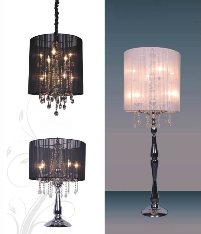 Crystal Chandelier Table Lamps Photo 8