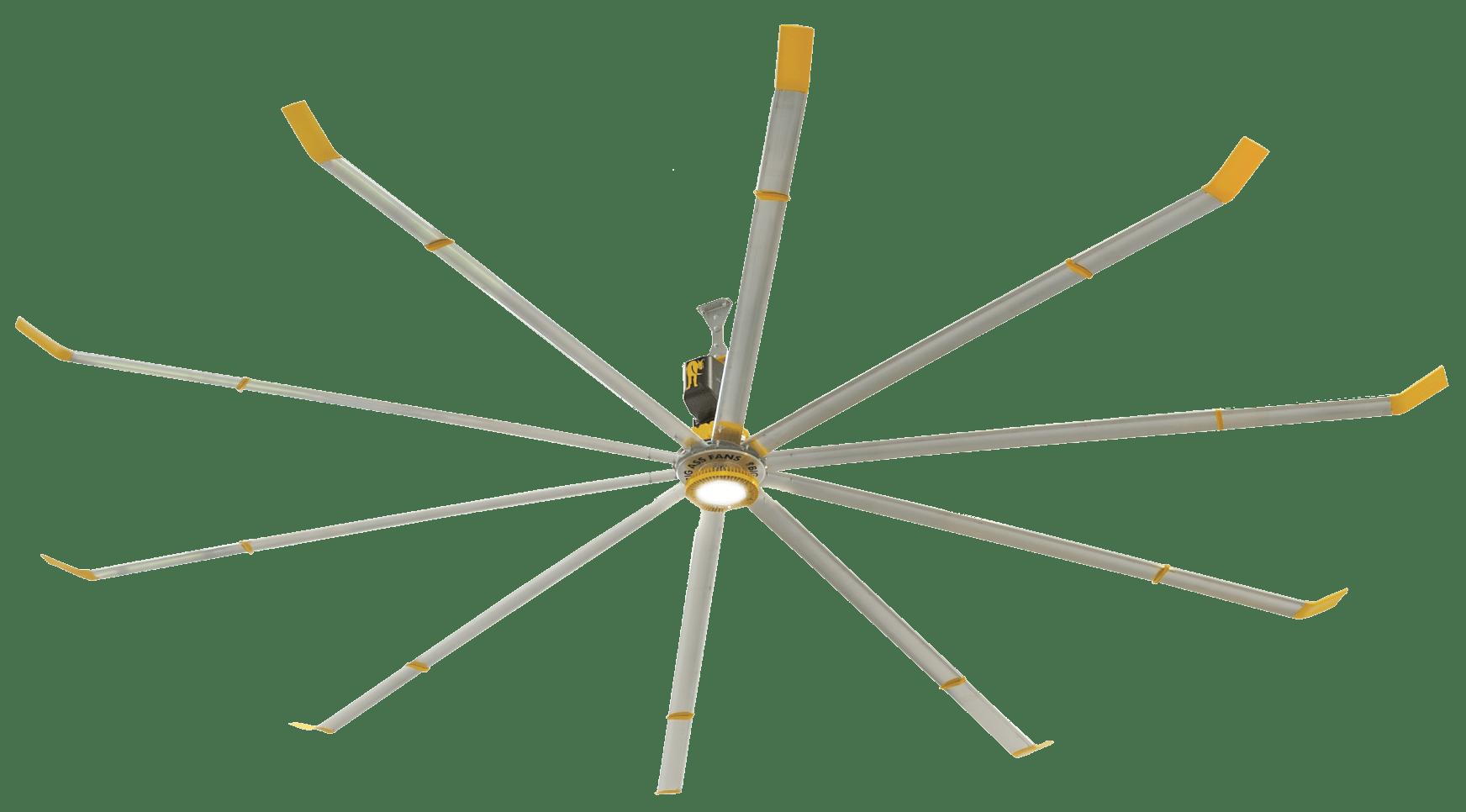 Big Industrial Ceiling Fans