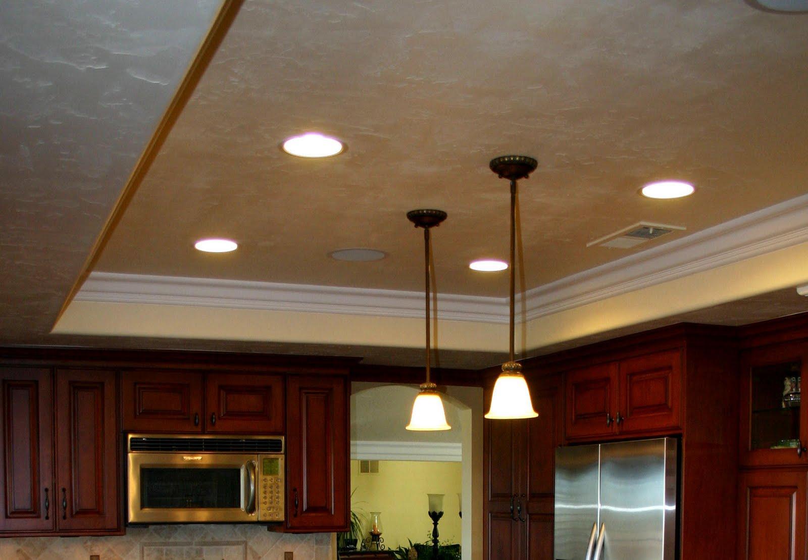 Kitchen Ceiling Light Fixtures Led