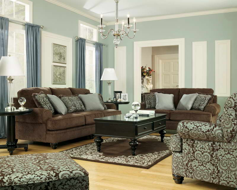 How To Decorate Light Blue Living Room Walls
