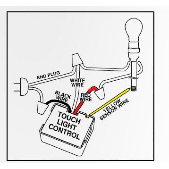 touch light sensor wiring diagram  satellite rv receptacle