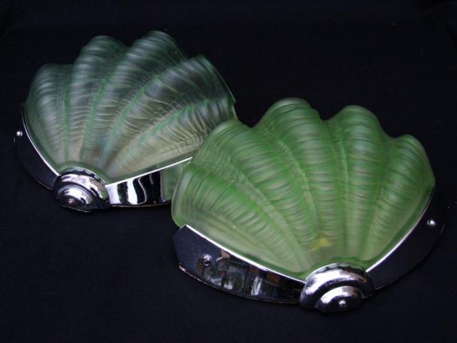 Tecnolumen Art Deco Wad 36 Wall Lamp Sconces