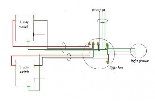 2 Way Lighting Circuit Diagram Light Wiring readingratnet