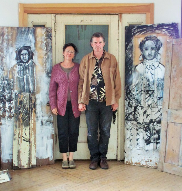 Julia Heimer Dadds and Mark Beebe