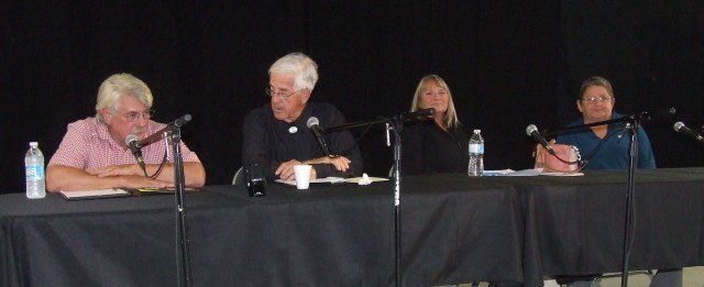 L-R: Norm Rafuse, Lyle Yorke, Betty Atkinson, Maggie Phinney