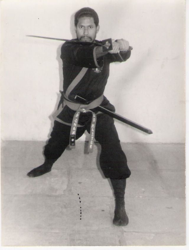 Dr. Prabhu Karuna: Martial Artist, Healer, and Spiritualist.