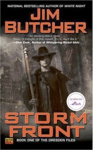 books like Jim Butcher's Dresden Files