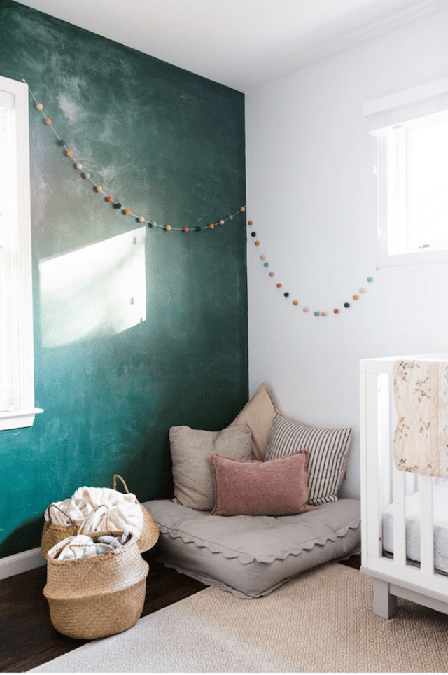Design Inspiration: Creating a Kids' Play Space in Your Living Room; image via designmom.com