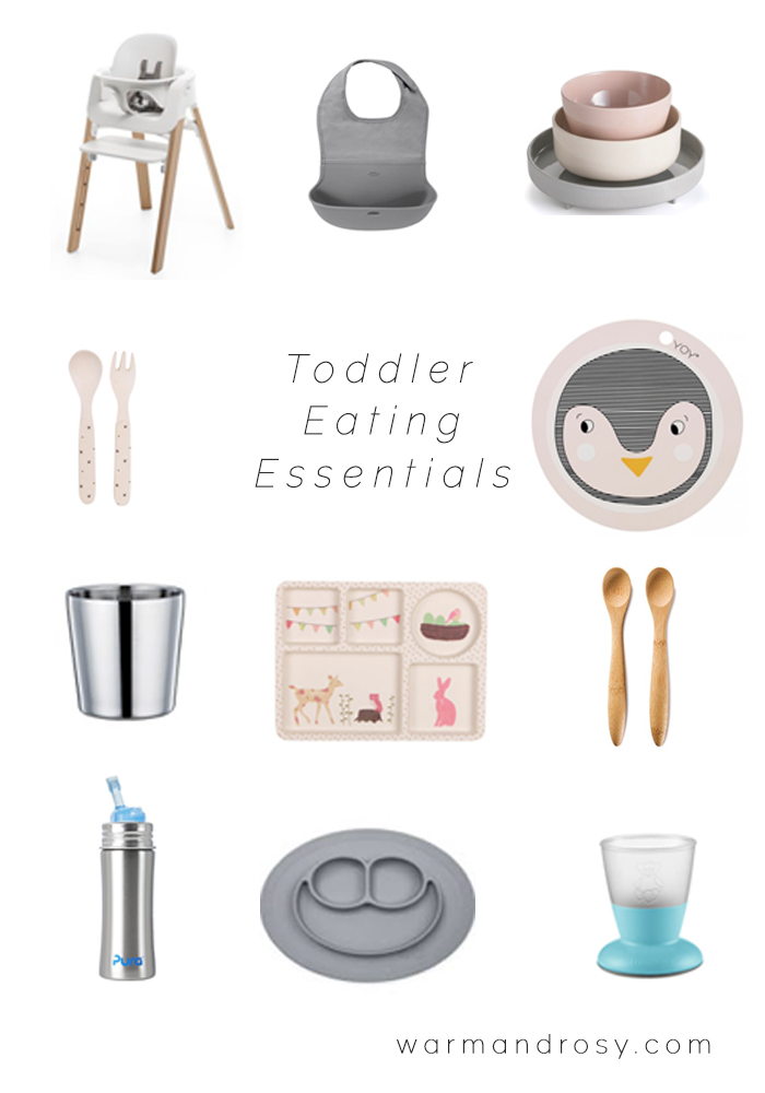 Toddler Eating Essentials - Stylish & Nontoxic | warmandrosy.com