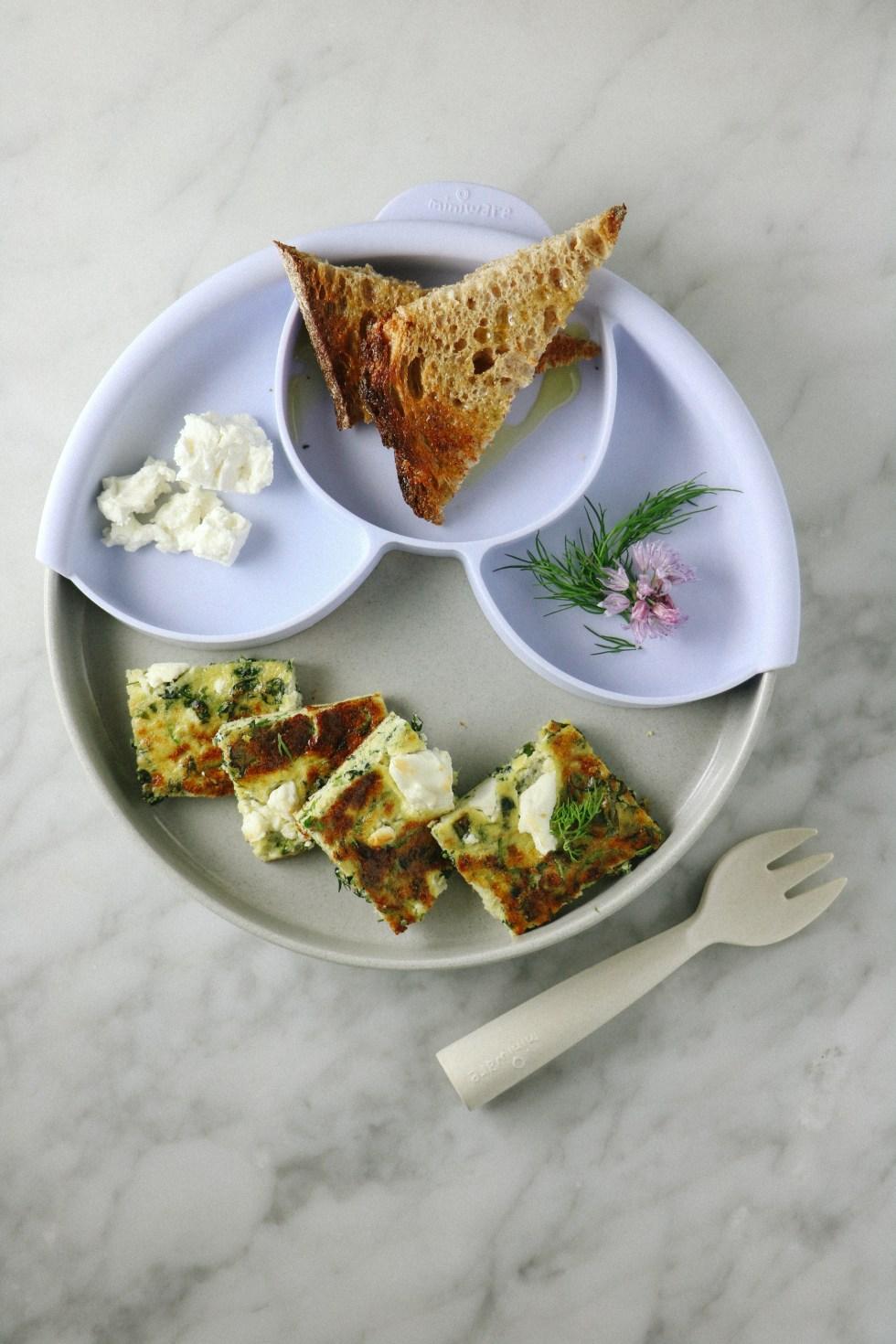 Herby Green Zucchini Frittata