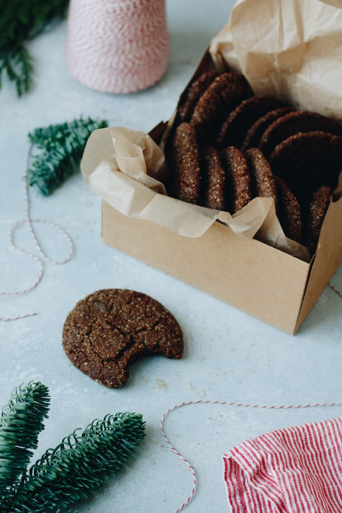 Chewy Triple-Ginger Molasses Cookies