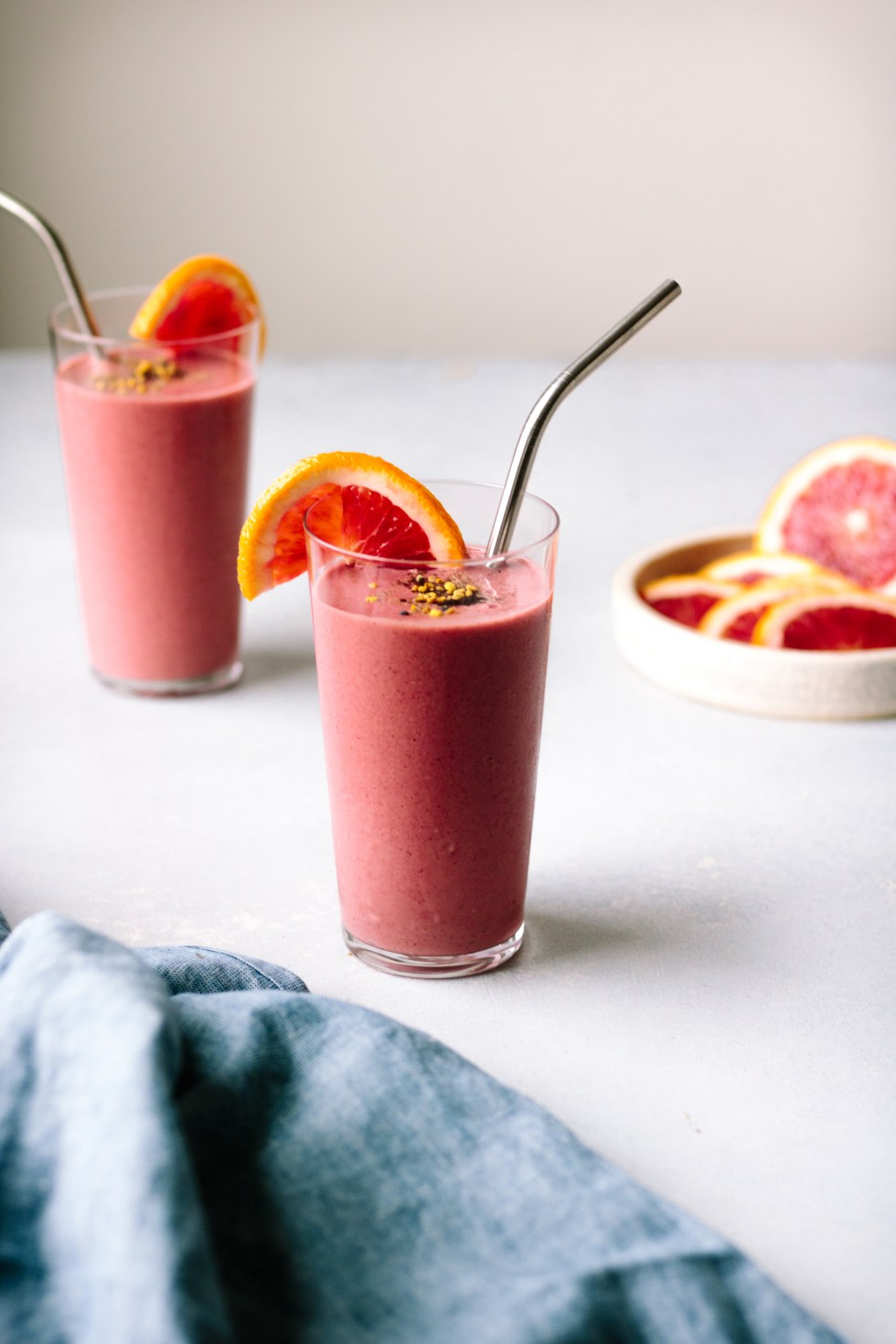 Beet, Berry and Blood Orange Smoothie — warmandrosy.com