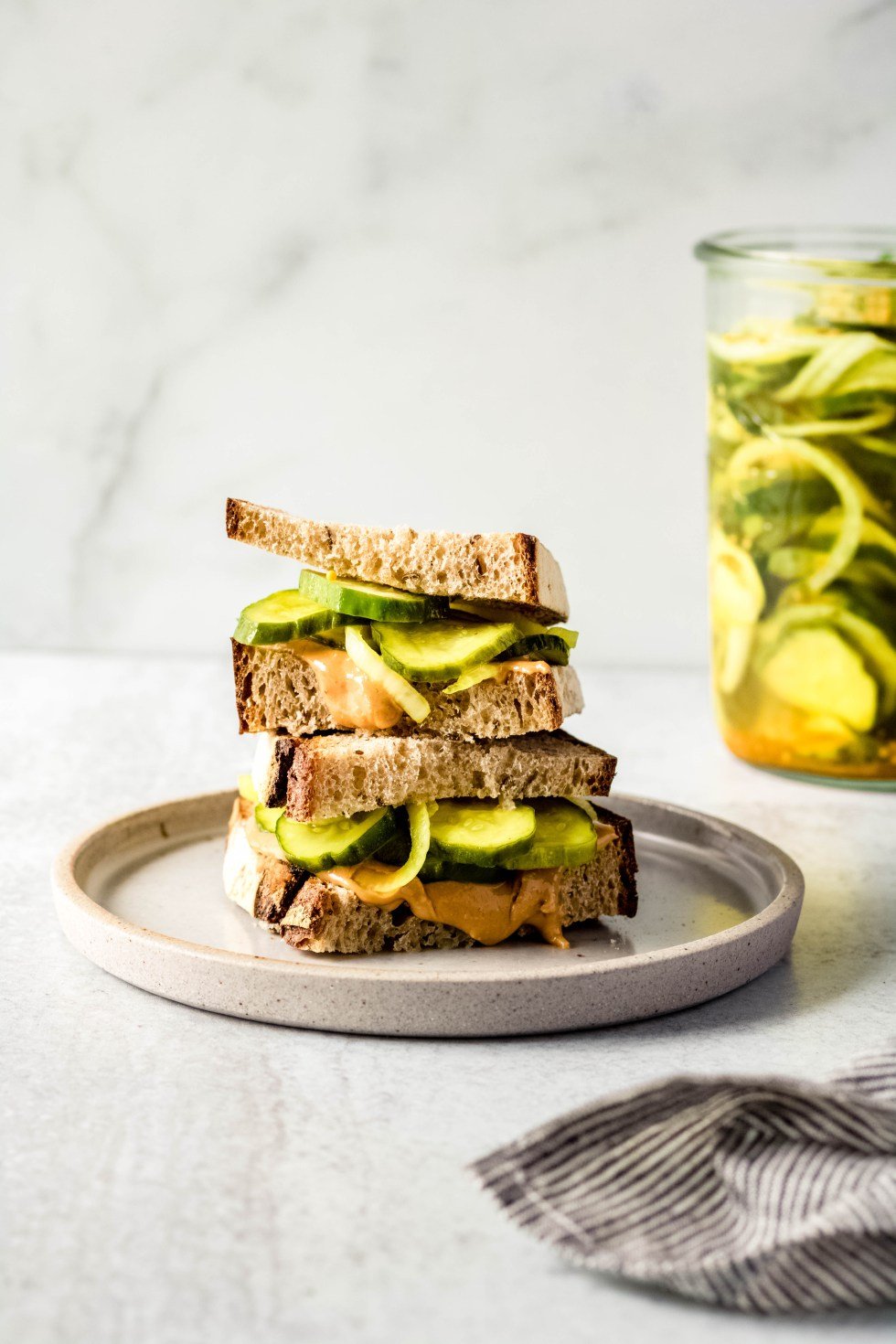 Crunchy Bread and Butter Pickles — warmandrosy.com