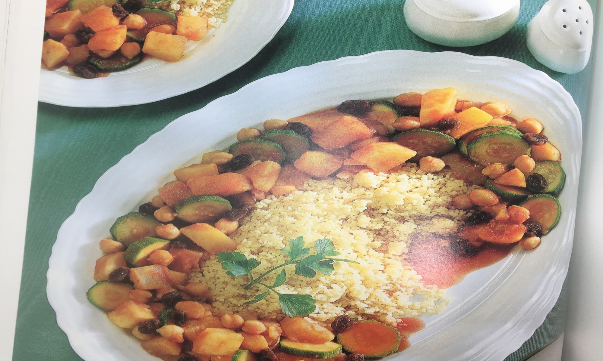 Veggies with Couscous