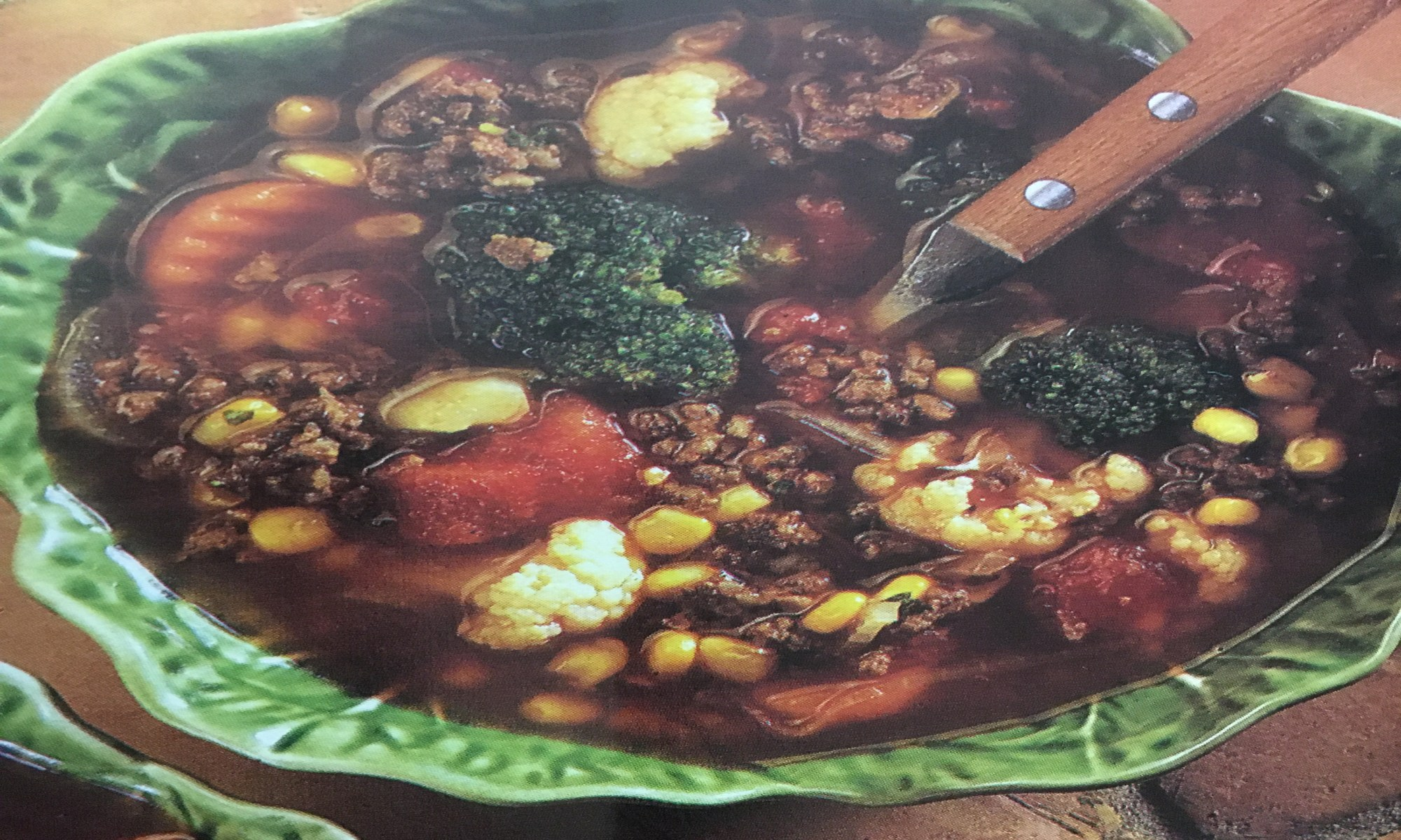 Vegetable Beef Soup - Warm and Tote