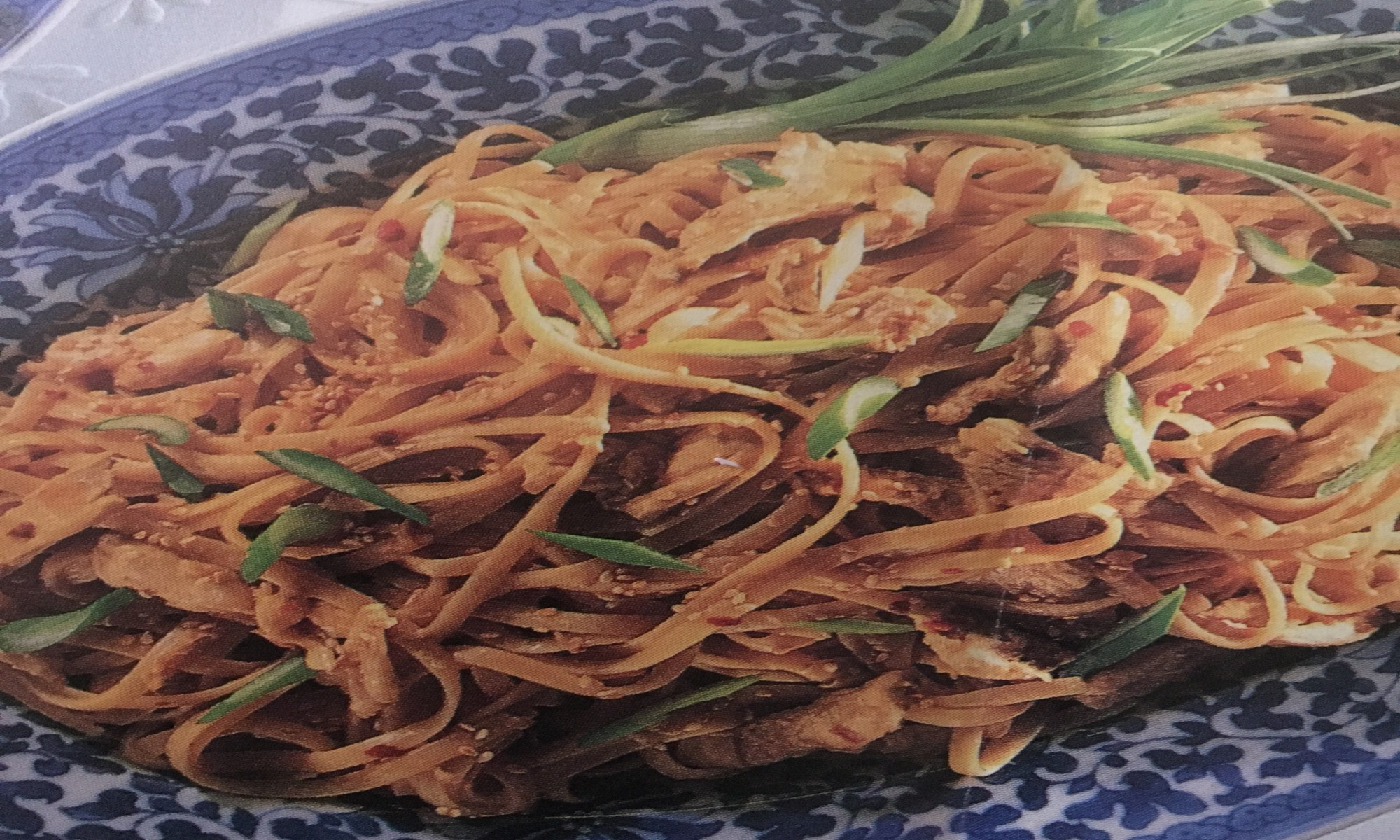 Warm and Tote Spicy Sesame Noodles Recipe