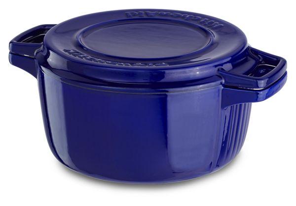 KitchenAid® Professional Cast Iron 4-Quart Casserole