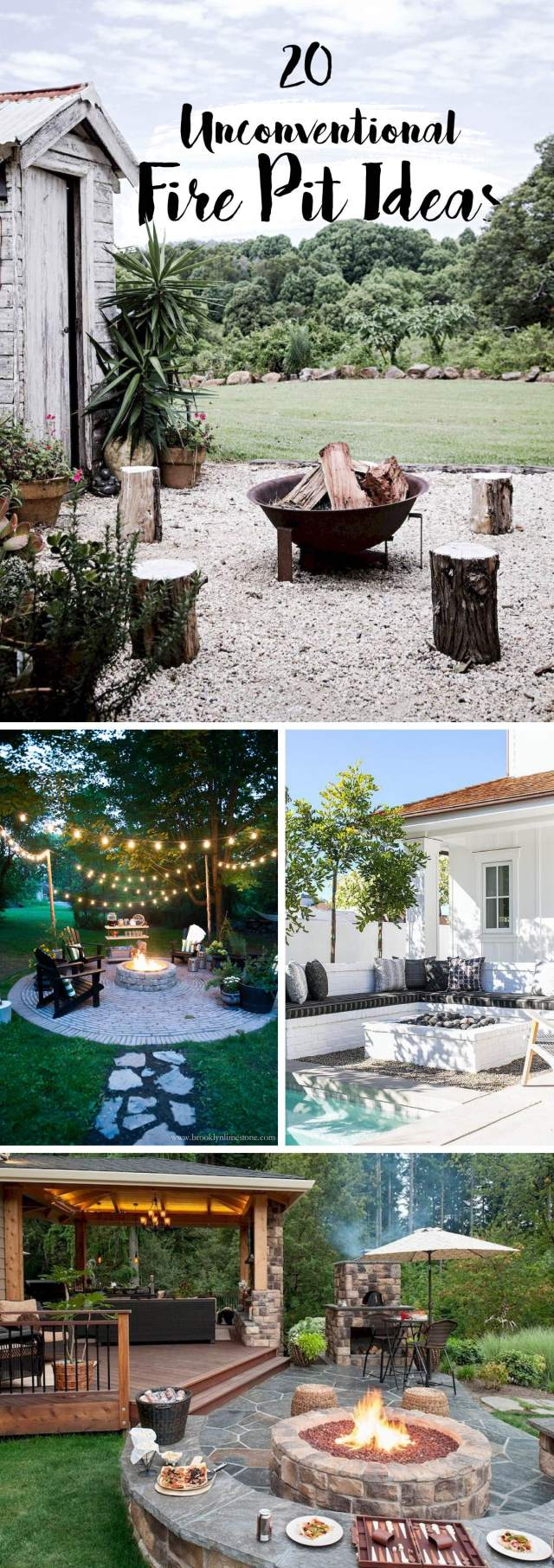 20 Unconventional Fire Pit Ideas Making The Yard An Even More Cherishing Place