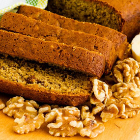 Banana Nut Bread 2 Wick Loaves