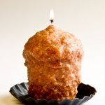 Caramel Coffee Cake Oversized Votive