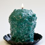 Christmas Tinsel Oversized Votive