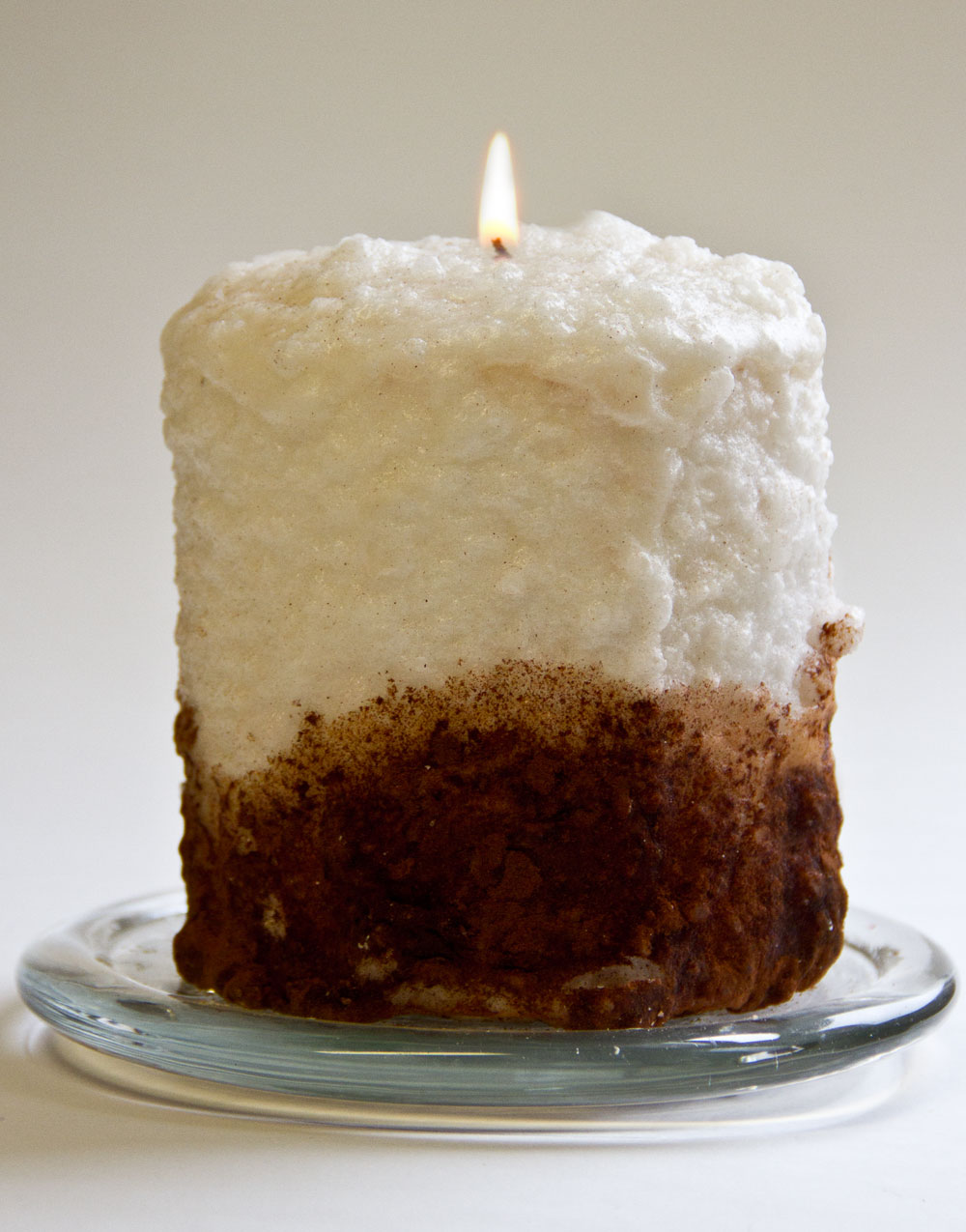Cinnamon Fried Ice Cream Hearth Candle