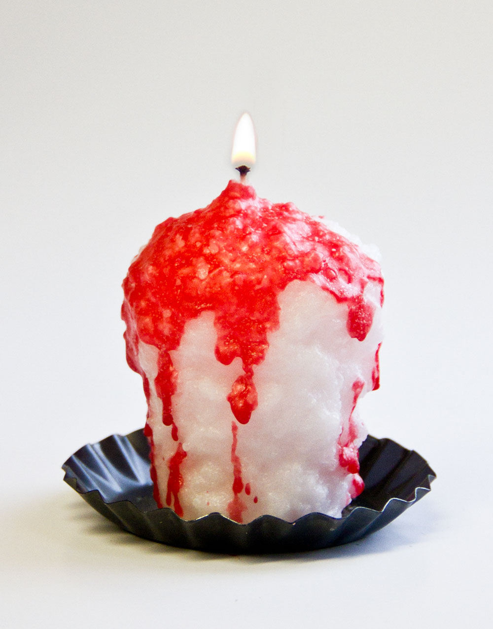 Strawberry Parfait Oversized Votive