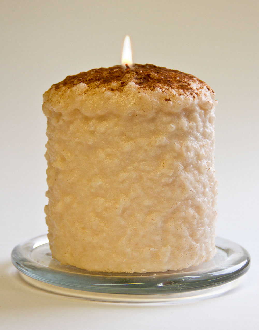 Vanilla Custard Hearth Candle