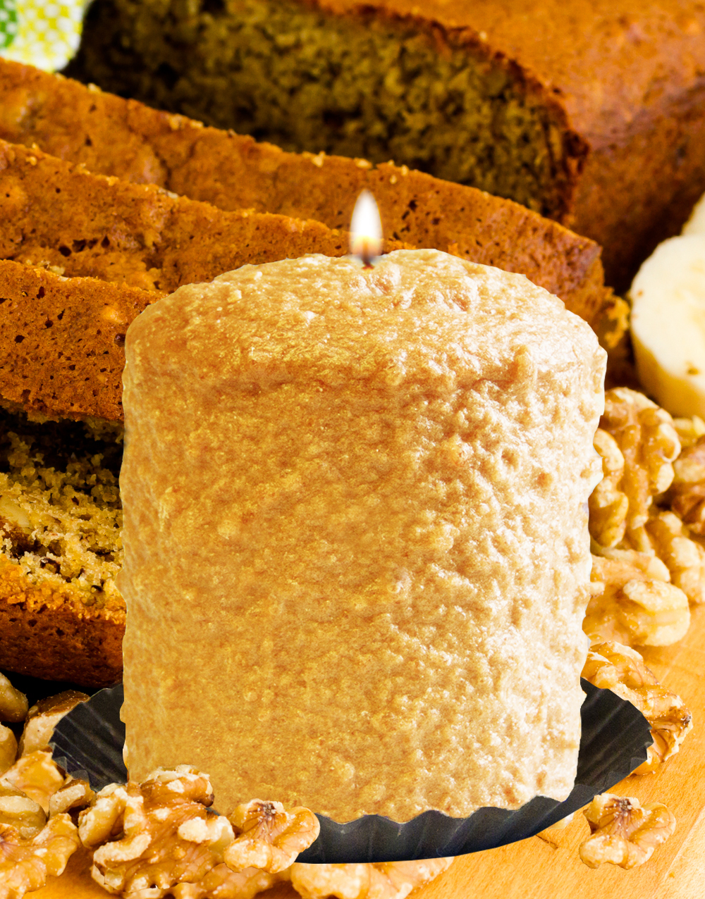 Banana Nut Bread Hearth Candle