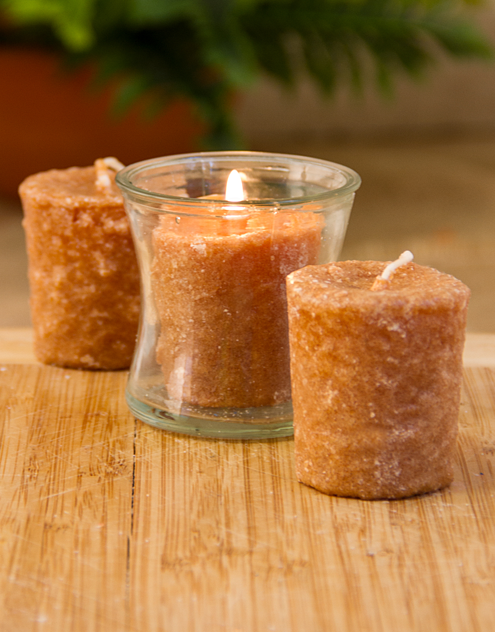Caramel Coffee Cake 3 Pack Votive Candles