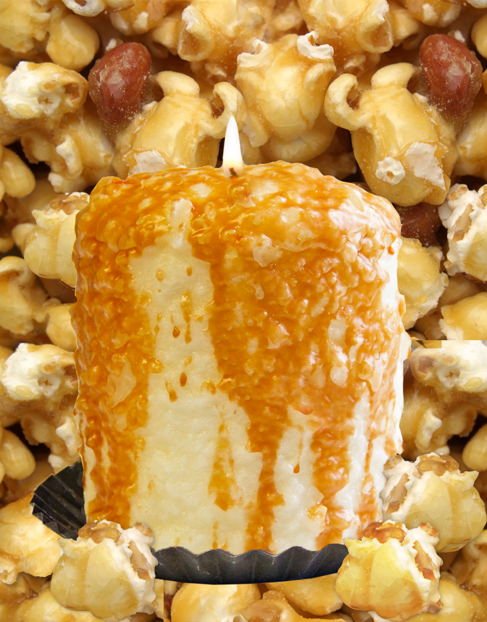 Caramel Corn Hearth Candle