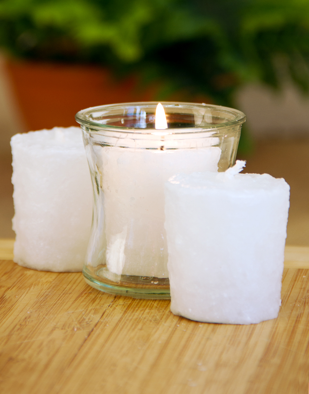 Creamy Vanilla Bean 3 Pack Votive Candles