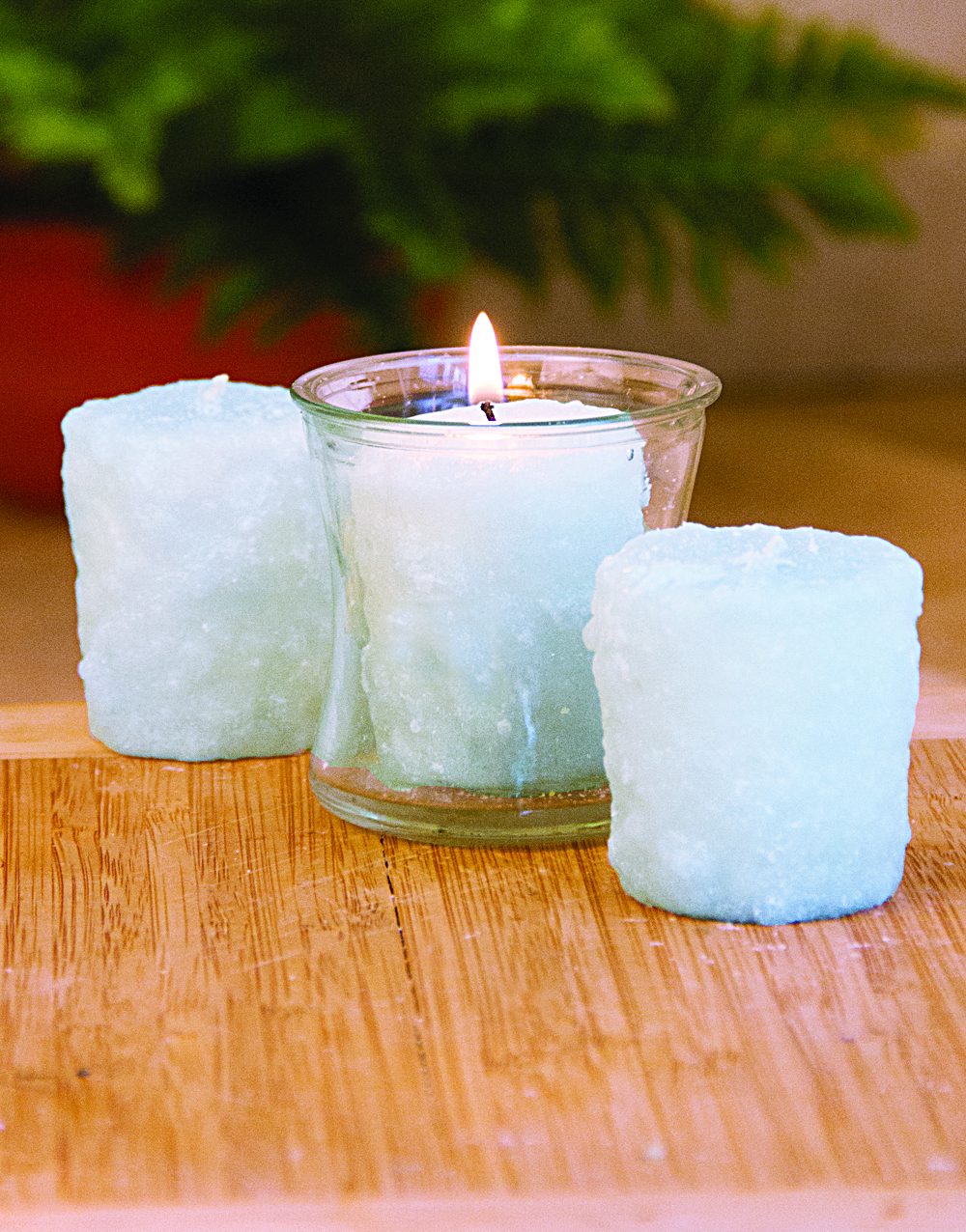 Frosty Morning 3 Pack Votive Candles