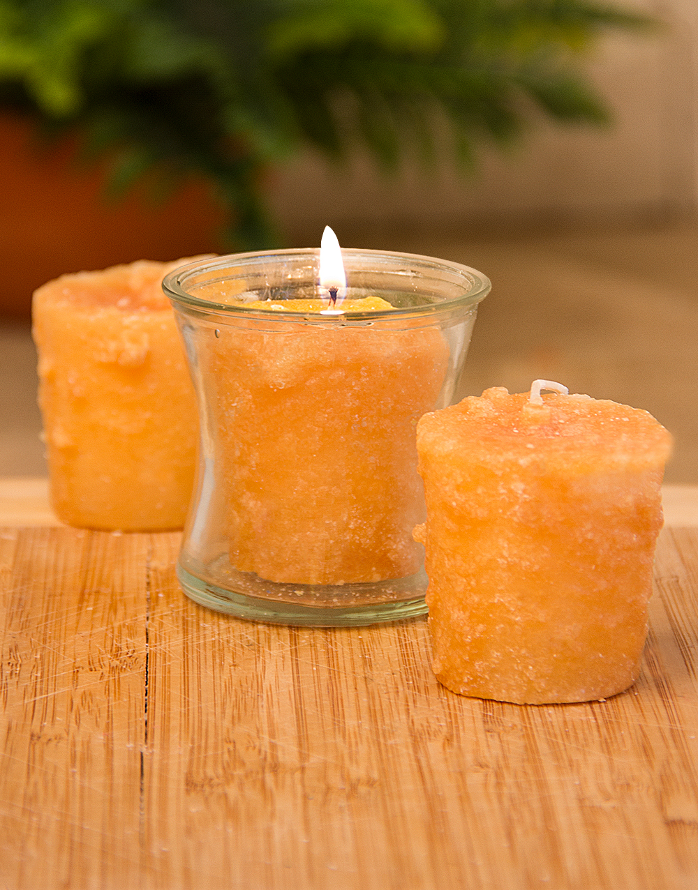 Hot Apple Butter 3 Pack Votive Candles