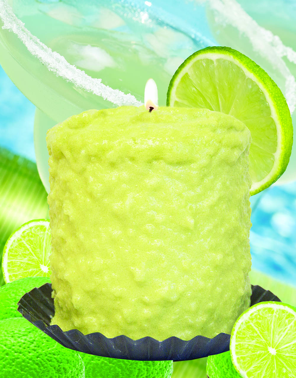 Lime Margarita Hearth Candle